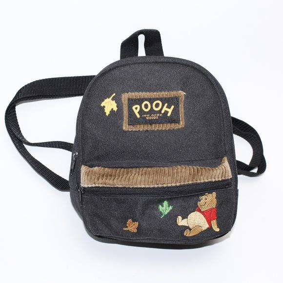 7738a90d6926 Disney Handbags - 90 s Disney Winnie the Pooh Mini Backpack
